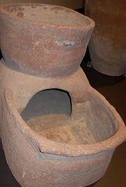 Classical Pompeii oven