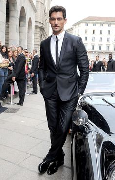 David Gandy - When I read my romance novels this is what I picture the male character looks like...Y.U.M.!!!