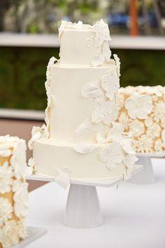 Sensational cake design by @weddingcakesbyjimsmeal ! @christianothstudio @calderclark  #Weddingcake White Wedding Cakes, Sugar Flowers, Let Them Eat Cake, Spring Wedding, Amazing Cakes, Food Art, Vanilla Cake, Special Day, Wedding Planner