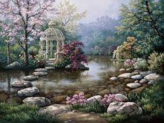 Casse-Tête Merveilleux Jardins_26
