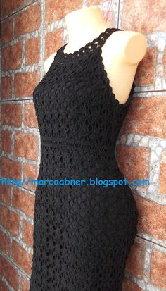 Marcinha crochet: crochet dresses  .... CROCHET AND KNIT INSPIRATION: http://pinterest.com/gigibrazil/crochet-and-knitting-lovers/