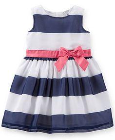 Carter's Baby Girls' Striped Dress