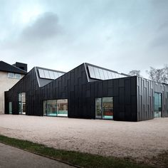 Primus Arkitekter transforms Fritz Hansen factory into a library and cultural centre
