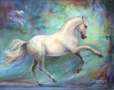 High Quality Abstract Bed Room Decor Painting Artist Handmade Beautiful Horse Oil Painting On Canvas White Horse Paintings White Horse Painting, Horse Canvas Painting, Oil On Canvas, Canvas Art, Horse Paintings, Canvas Size, Canvas Paintings, Painted Horses, Horse Artwork