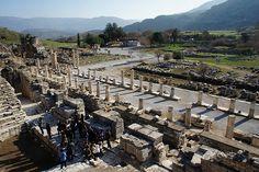 터키 에페소의 고대 유적지. 터키의 또 다른 매력.