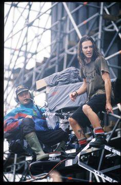 Pearl Jam Eddie Vedder Pinkpop Festival Landgraaf Holland
