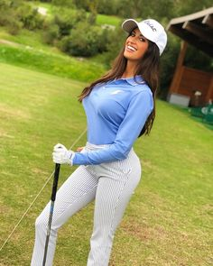 Explore a wide variety of polo shirt & shirts for ladies from Golf Galaxy. Shop all top-rated females's golf polos consisting of sleeveless, quick and. Ladies Golf Clubs, Girls Golf, Golf Sexy, Weekender, Lpga Golf, Golf Tips For Beginners, Golf Fashion, Golf Outfit, Sports Women