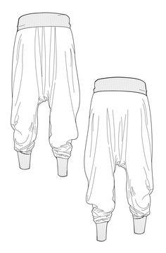 Pants Drawing, Drawing Clothes, Drawing Poses, Drawing Tips, Manga Clothes, Art Reference Poses, Design Reference, Drawing Reference, Flat Drawings