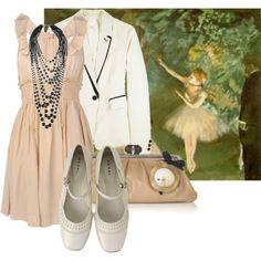 Degas inspired fashion