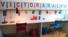 Bygg ditt eget skrivbord - Äntligen hemma - tv4.se