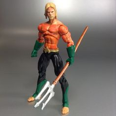 Aquaman (DC Infinite Heroes) Custom Action Figure