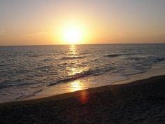 Venice FL sunset at BEACHFRONT VENICE CONDOS