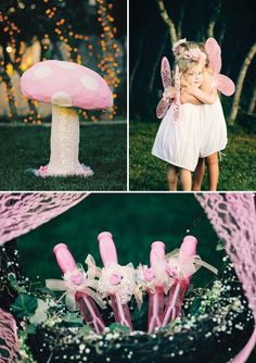 diy fairy birthday party toadstools and favors