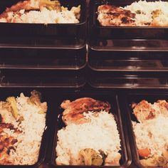 Being prepared makes it easier to stay on track  #MealPrepSunday #FitPacker by garcia_michael