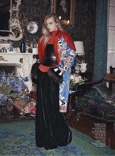 Cara Delevingne by Benny Horne for Vogue Australia October 2013