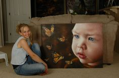 Akiane Kramarik Gallery Heaven | really want them to take the time, as much as they can, to go ...