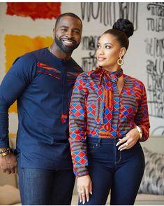 african fashion 2019 Latest Ankara Styles for Couples Couples African Outfits, African Dresses Men, African Blouses, African Clothing For Men, African Fashion Ankara, African Shirts, Latest African Fashion Dresses, African Attire, African Wear