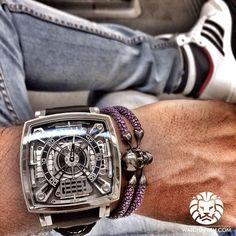 Dieses und weitere Luxusprodukte finden Sie auf der Webseite von Lusea.de  Chill mode: engage  @MCTwatches x #stingHD on my wrist today