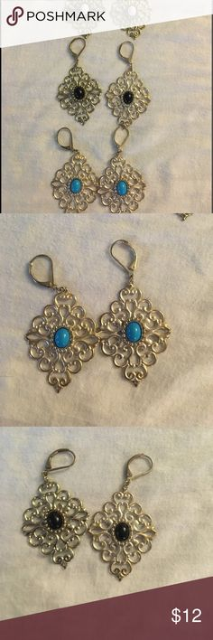 Costume jewelry 3 pairs for 12.00! Jewelry Earrings