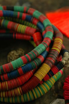 Vintage African Vinyl Record Beads // Tribal Jewelry Making Supplies // WomanShopsWorld Jewelry Supplies, Friendship Bracelets, Bangles, Tiles, Glass, Fashion, Charm Bracelets, Room Tiles, Moda