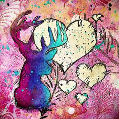 Creative Creations by Andrea Gomoll | Oh Deer! – Mini Christmas Online Class | http://andrea-gomoll.de