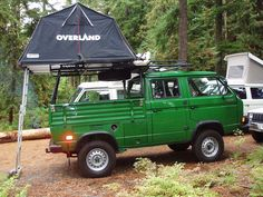 westfalia lifted roof rack