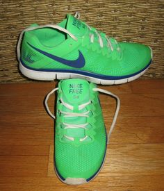 d0005af4d0f NIKE FREE 3.0 553684-302 MEN S NEON GREEN SYNTHETIC RUNNING SHOES SIZE 10   fashion