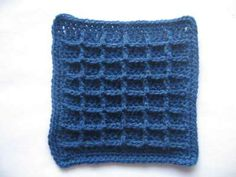 waffle crochet stitch - Google Search