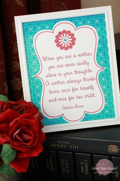 Love these Mother's Day Printables!