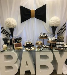 """91 Likes, 6 Comments - SST #IndulgewithClass (@sweettreats2413) on Instagram: """"When collaborations meetup #babyshower #desserttable #instalike #instamood #instagood #popularpic…"""""""