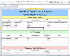 Project Management Dashboard Templates  Google Search  Project