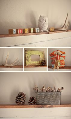 Rustic Nursery Inspired by the Outdoors