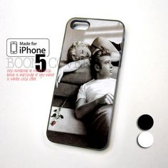 Marilyn Monroe and James Dean Poster Art design for iPhone 5 Case. I totally want!!!