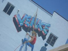 My absolute Favorite Venice Beach mural...It's been there for years!