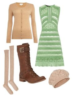 """""""Untitled #966"""" by mountain-girl-lynn ❤ liked on Polyvore featuring Base Range, Burberry, Timberland, Linea and Accessorize"""