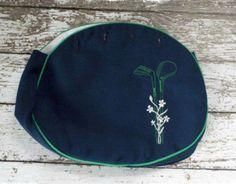 Vintage Bermuda Bag Purse Cover Preppy by MoomettesCrochet on Etsy