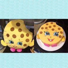 Kooky cookie shopkins cake!