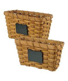 Chalkboard Basket Set #zulily #zulilyfinds