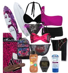 """Surf's Up"" by tabitha-renee-peace on Polyvore"