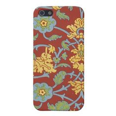 Vintage Floral Fabric (15) Case For iPhone 5