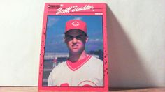 DONRUSS 1990 SCOTT SCUDDER CARD#435 REDS,,