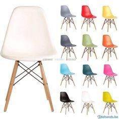 Furniture Making, Diy Furniture, Furniture Design, Office Furniture, Charles Eames, Ab Chair, Eames Eiffel Chair, Chaise Dsw, Vitra Chair