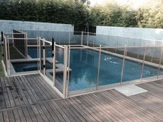 Pool Safety Fence for Hill Country Home, Texas