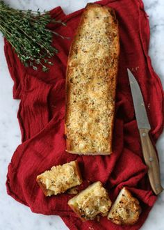 The Garlicky-est of Garlic Breads. Get the recipe via @PureWow