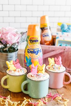 International Delight® PEEPS® Sweet Marshmallow Coffee Creamer at Walmart Peeps Hot Cocoa Recipe Non Dairy Coffee Creamer, Vanilla Coffee Creamer, French Vanilla Creamer, Coffee Creamer Recipe, Hot Cocoa Recipe, Cocoa Recipes, Frozen Coffee, Coffee Cubes, Peeps
