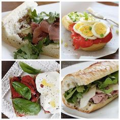 How To Make Greek Salad Sandwich