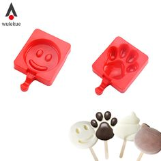 Wulekue Homemade Ice Cream Maker Popsicle Baking Silicone Mold For Cookies Pastry