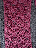 The Art of Zen Crochet: Free Lacey Crochet Scarf Pattern. She has a great collection of crocheted scarves. Crochet Gratis, Knit Or Crochet, Crochet Scarves, Crochet Shawl, Crochet Clothes, Crochet Stitches, Crochet Hooks, Free Crochet, Crocheted Scarf