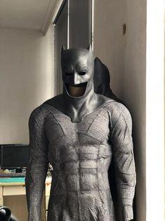 Batman Costumes, Batman Cosplay, Batman Suit, Superman, Man Gear, Batman Poster, Full Body Suit, Dawn Of Justice, Suits