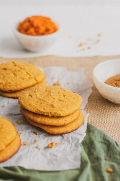 Pumpkin Cookies - Low Carb and Keto Cookie Recipe Pumpkin Cookie Recipe, Pumpkin Cookies, Keto Cookies, Yummy Cookies, Pumpkin Recipes, Fall Recipes, Pumpkin Spice, Cookie Recipes, Sugar Free Low Carb Recipe